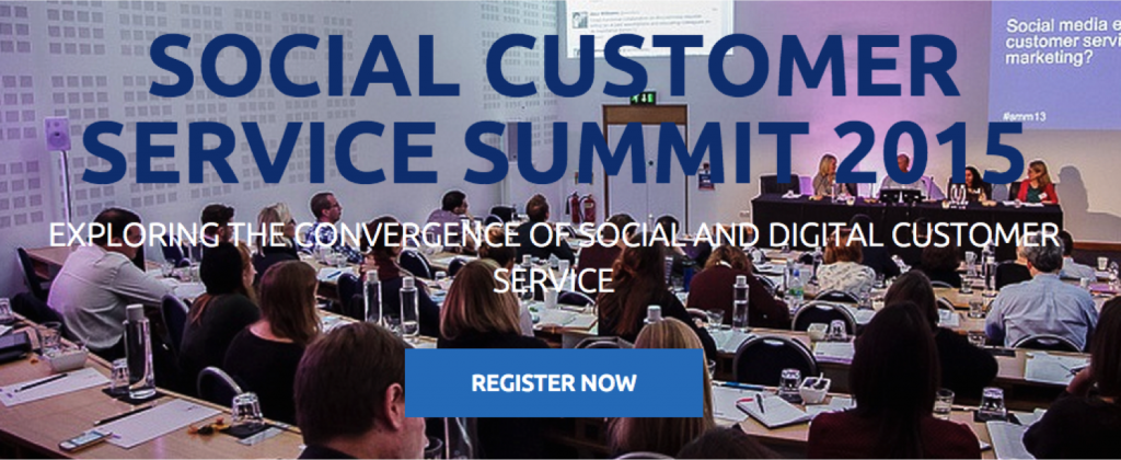 Social Customer Service Summit 2015 - SCSS15