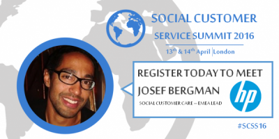 Social Customer SErvice Summit HP