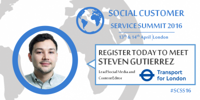 Social Customer Service Summit Transport for London